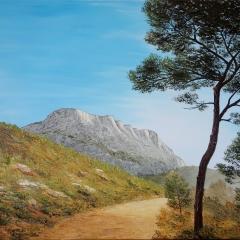 Chemin vers la Sainte Victoire