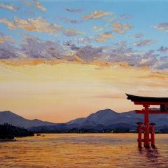 Baie de Miyajima Japon